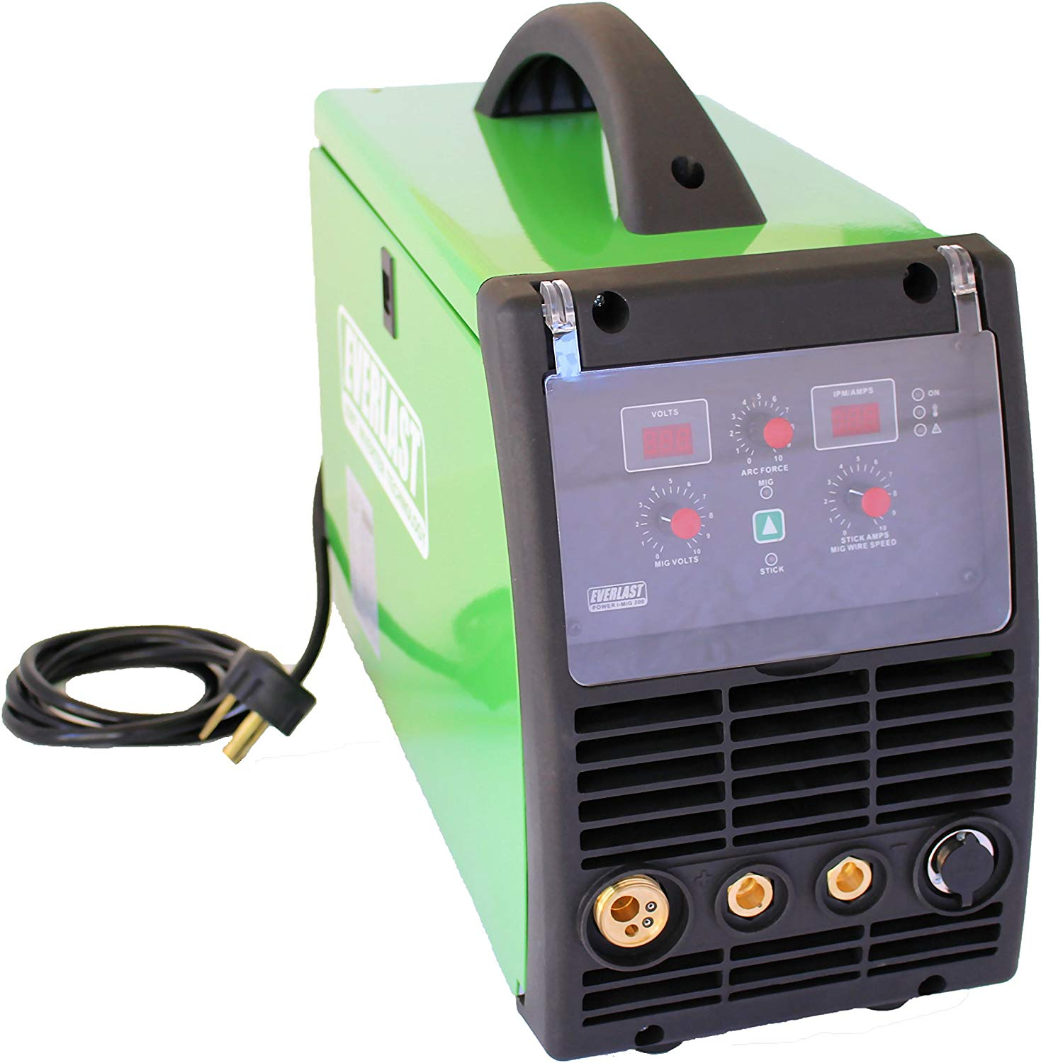 Everlast Power MIG 200 200amp MIG stick welder Review