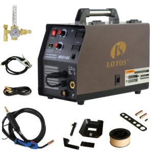 Lotos MIG140 Amp MIG Wire Welder Review